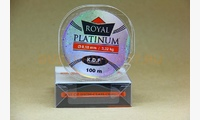 Леска KDF Royal Platinum 0,18 мм, 100 метров, 3,32 кг