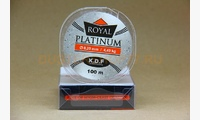 Леска KDF Royal Platinum 0,20 мм, 100 метров, 4,49 кг