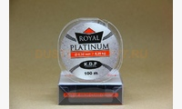 Леска KDF Royal Platinum 0,30 мм, 100 метров, 8,2 кг